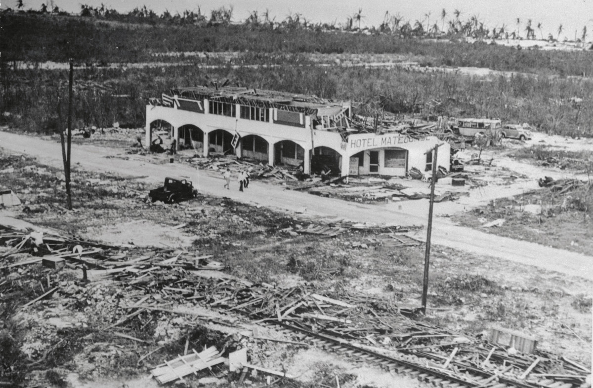 Category 5 Storms That Have Hit the US: 1935 Labor Day Hurricane