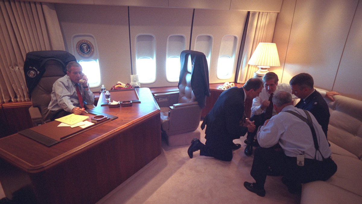 September 11 on Air Force One