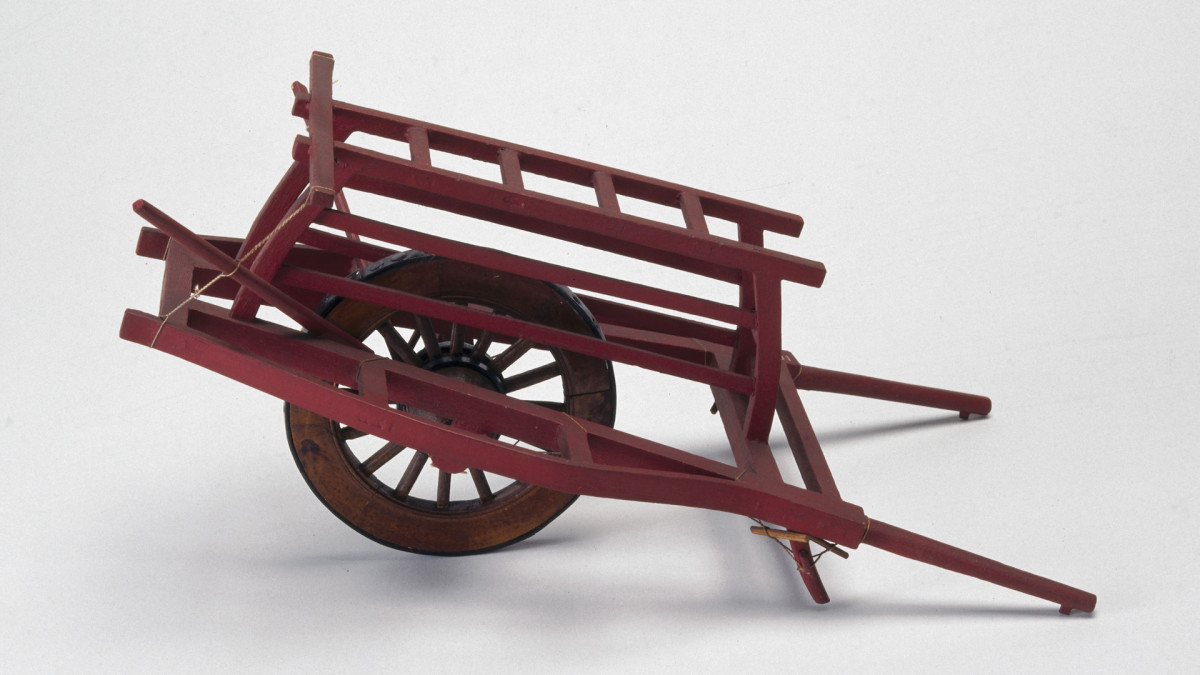 Inventions of the Han Dynasty: Wheelbarrow