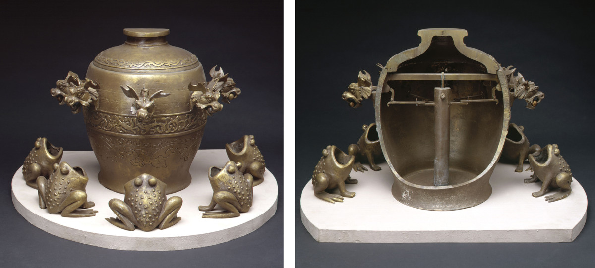 Inventions from the Han Dynasty: Seismoscope