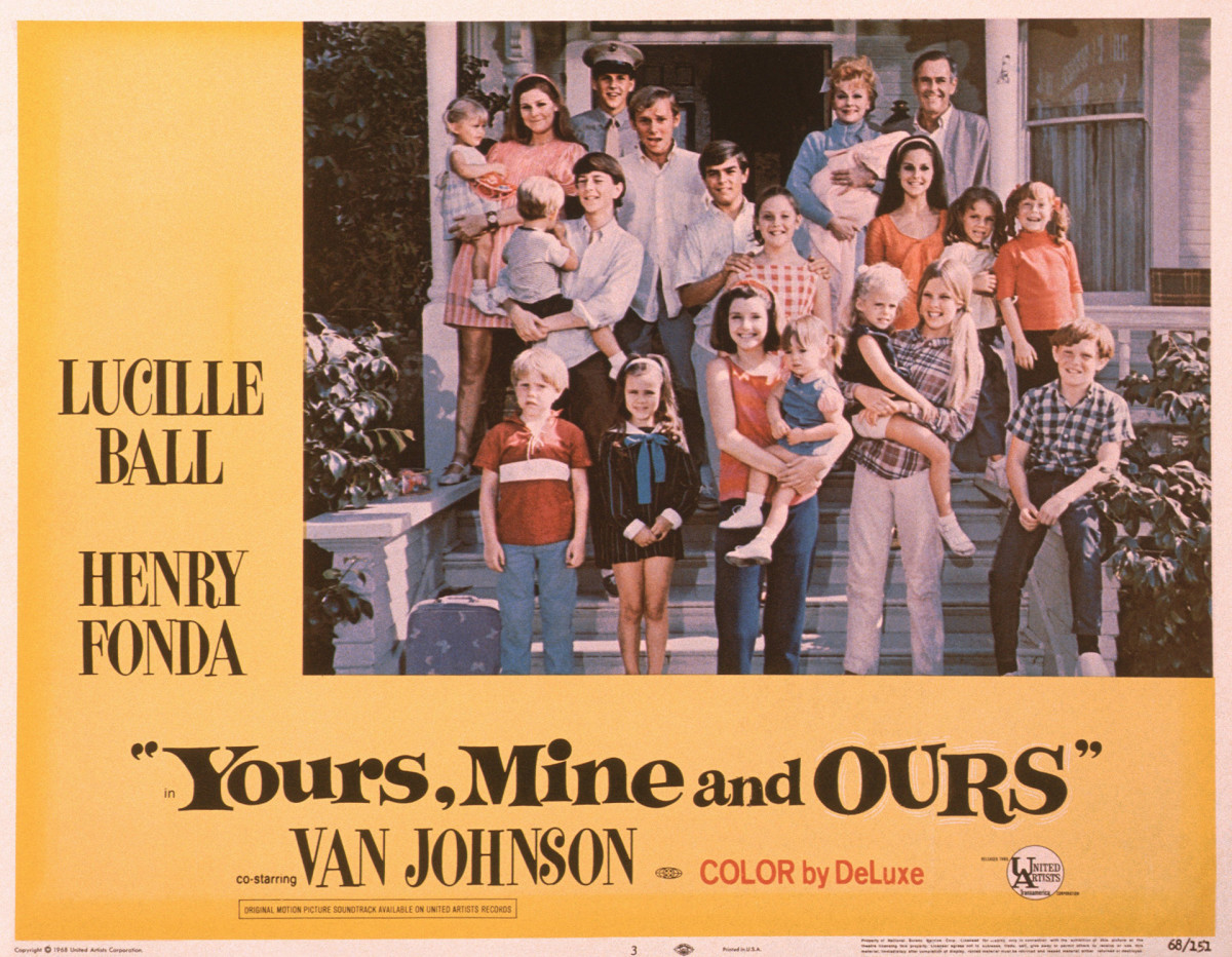 Yours, Mine and Ours, 1968 film