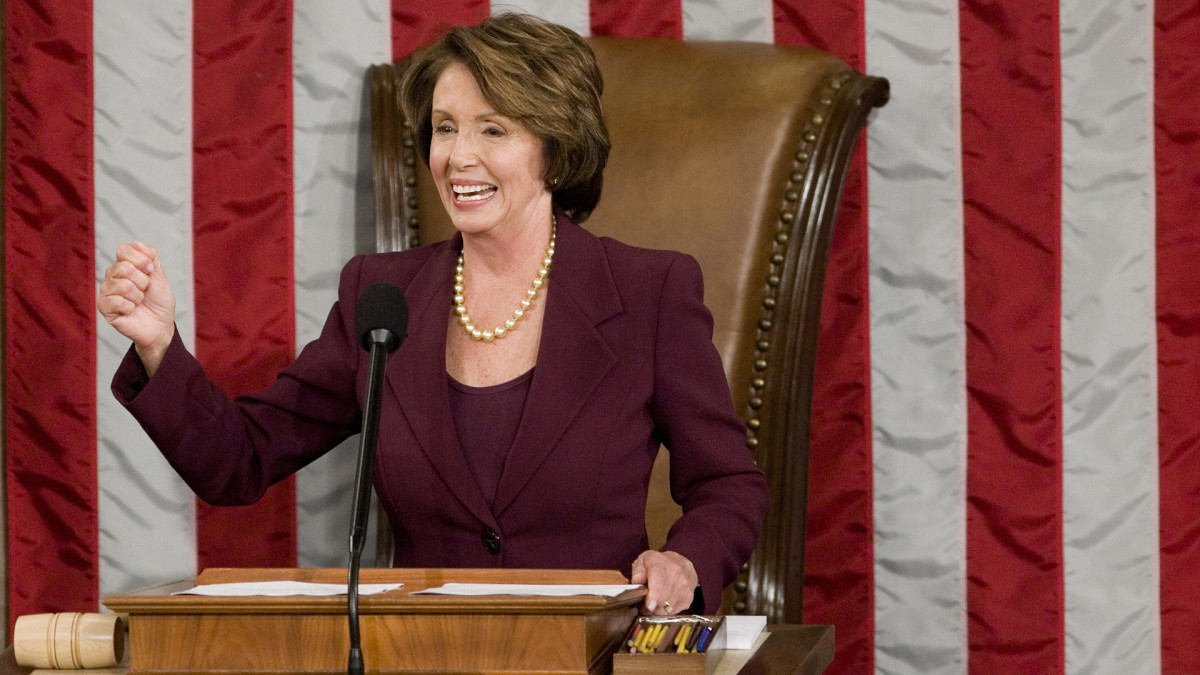 Speaker of the House Nancy Pelosi, 2007