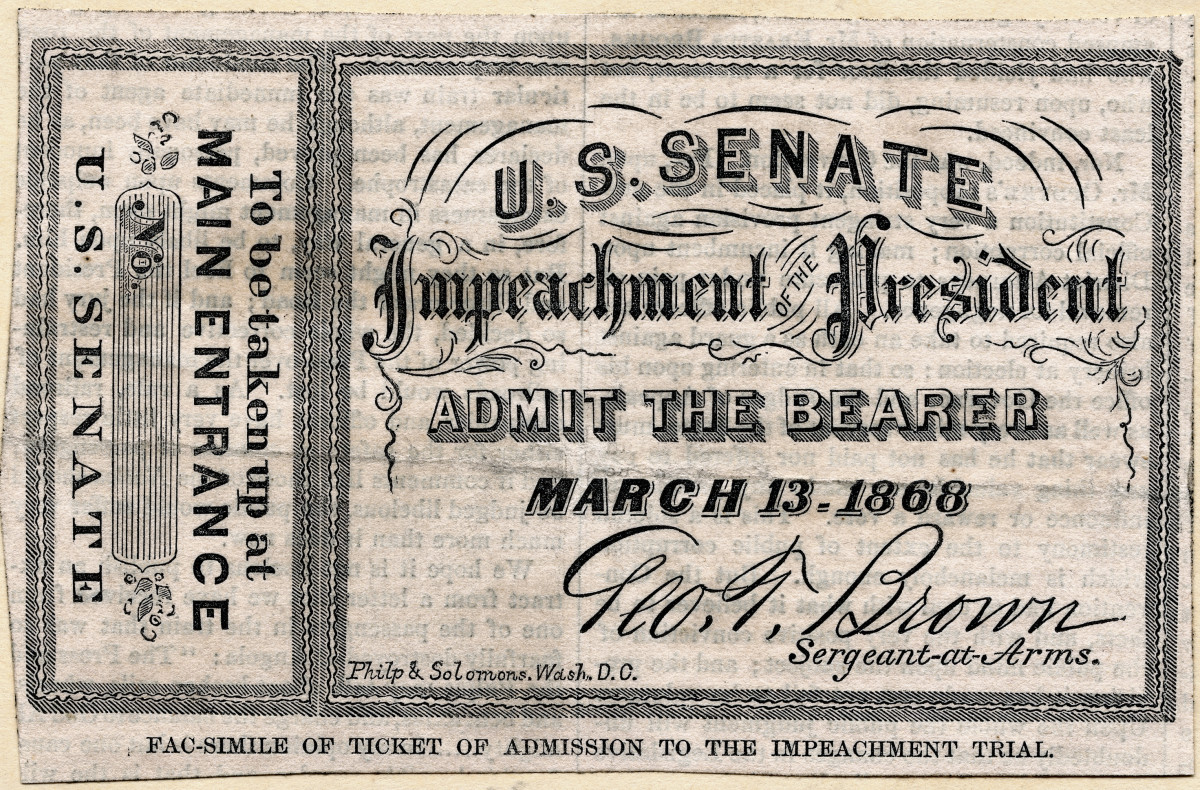 Impeachment Trial, US Senate