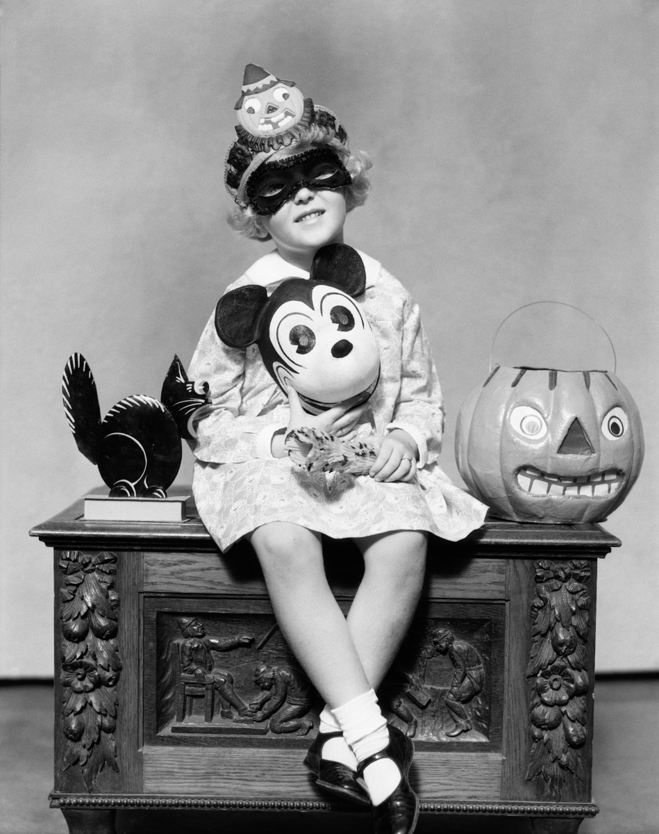 Halloween Costumes through the decades