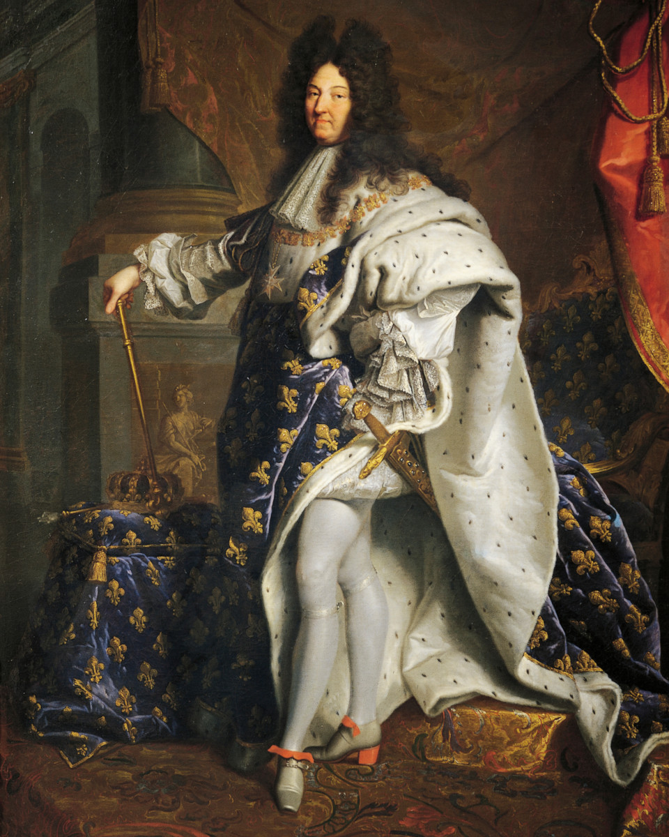 Portrait of Louis XIV of France, known as Louis the Great or the Sun King