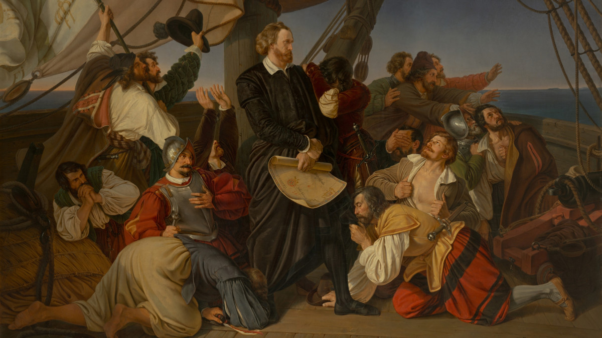 Christopher Columbus and his crew
