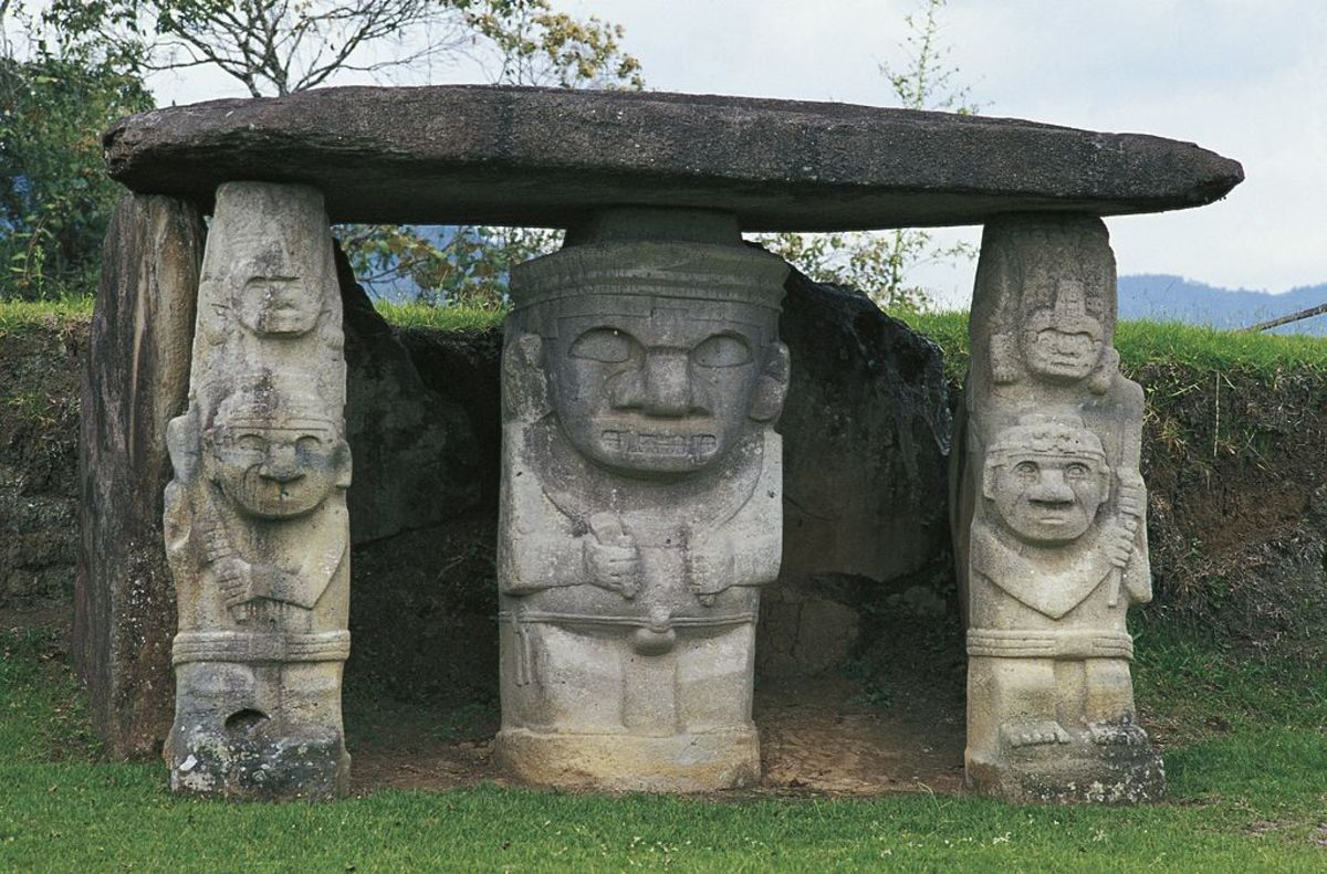 8 Astonishing Ancient Sites in the Americas: San Agustin