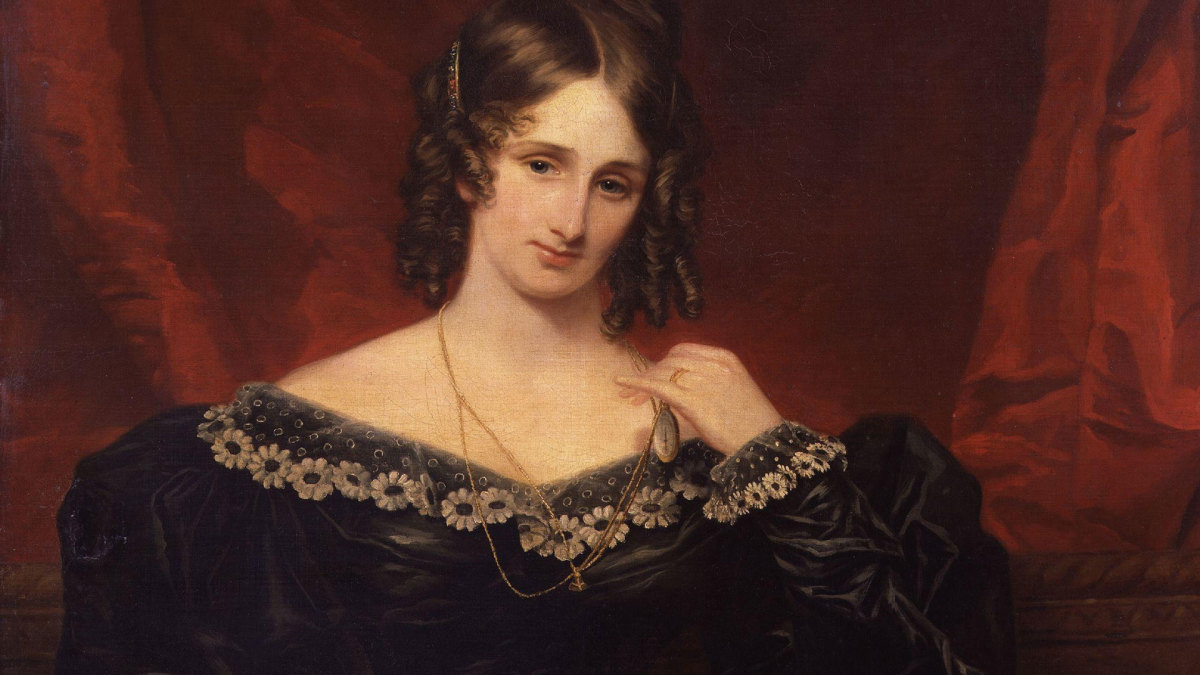 Mary Shelley, 1831.