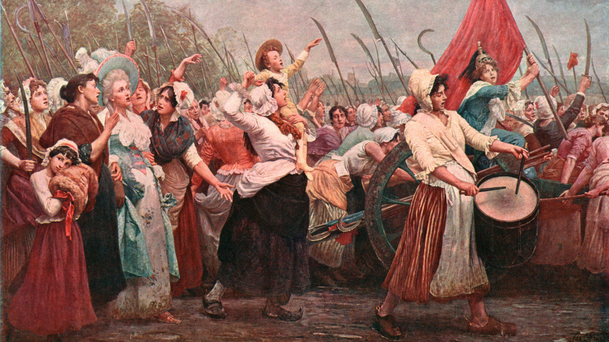 Womens March on Versailles