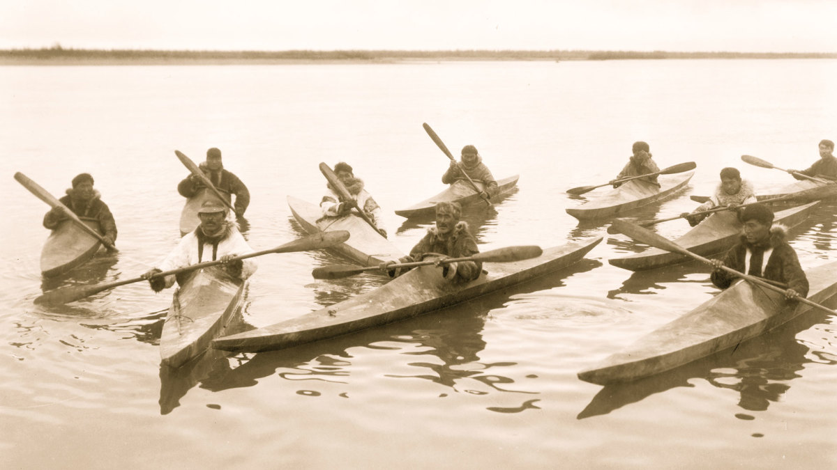 Native American Inventions: Kayaks