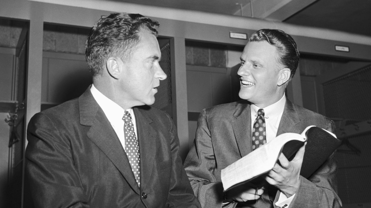 Richard Nixon and Billy Graham