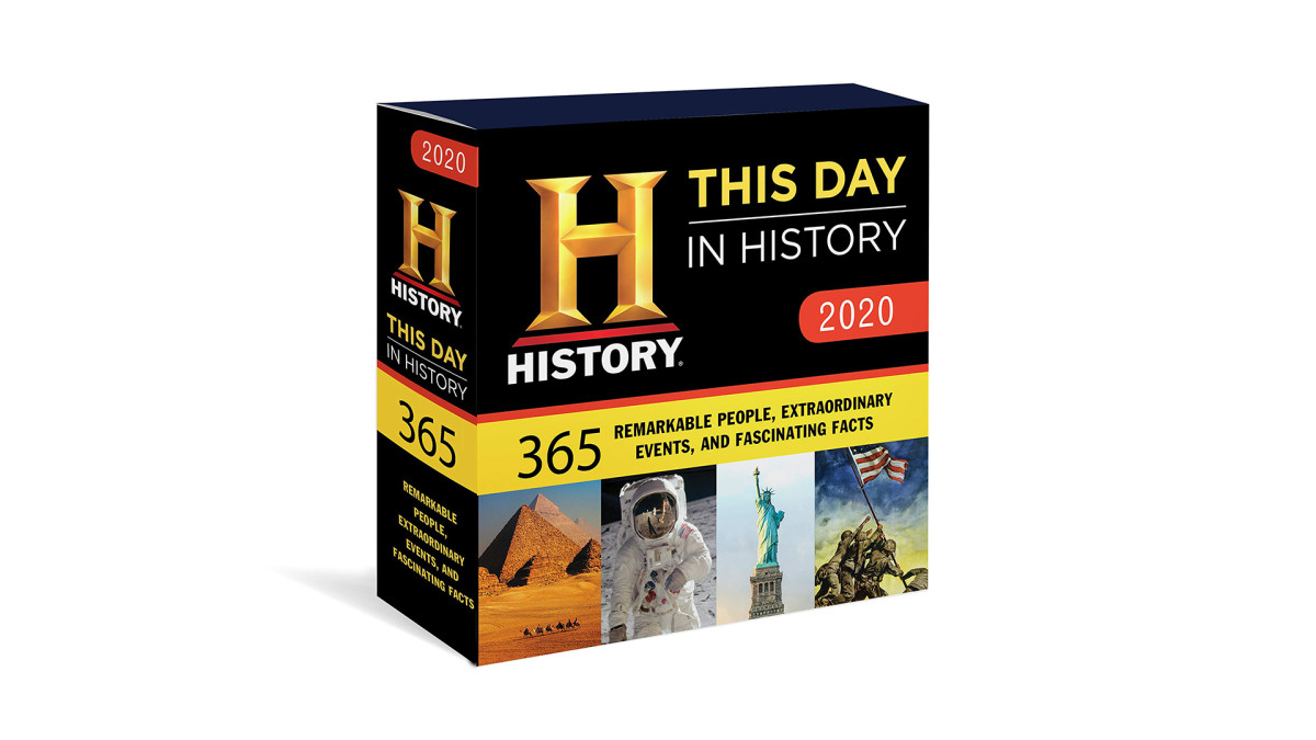 HISTORY Gift Guide 2019, This Day In History