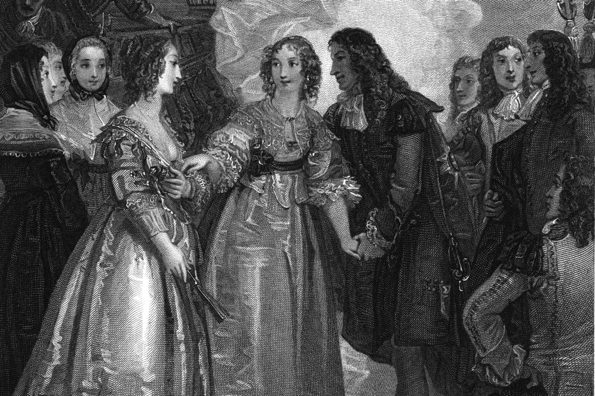 Charles II receiving the Duchess of Orleans at Dover, 1670. King Charles II of England and his sister, Henrietta Anne Stuart, negotiated the Secret Treaty of Dover, an alliance between England and France against the United Provinces of the Netherlands, in 1670. Henrietta was very close to Louis XIV of France, who was her brother-in-law.