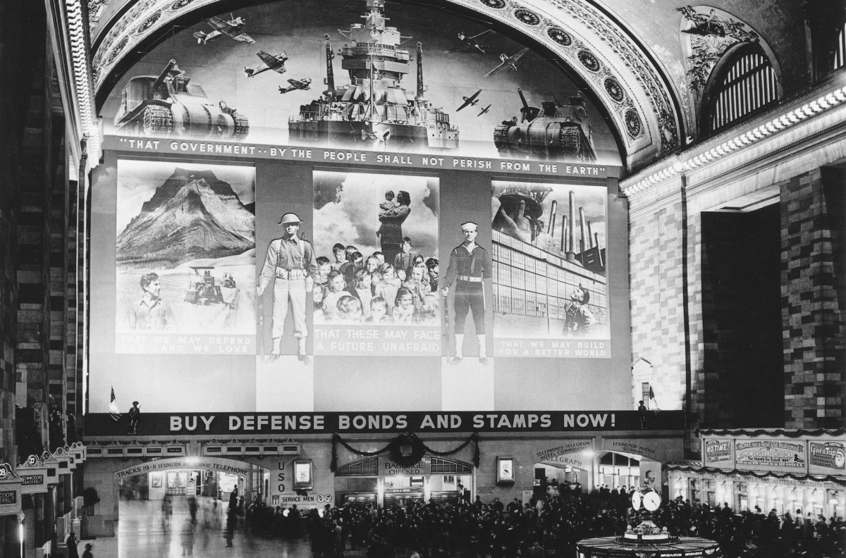 Grand Central during WWII
