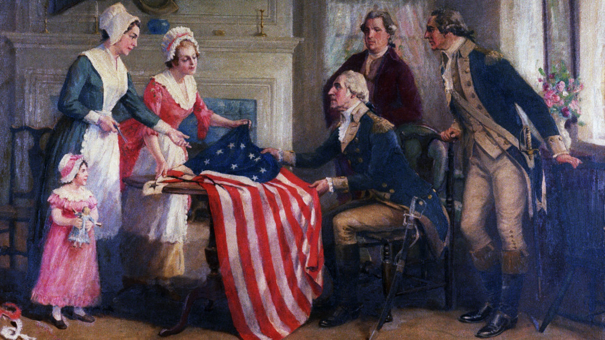George Washington Myths: Betsy Ross and the American flag