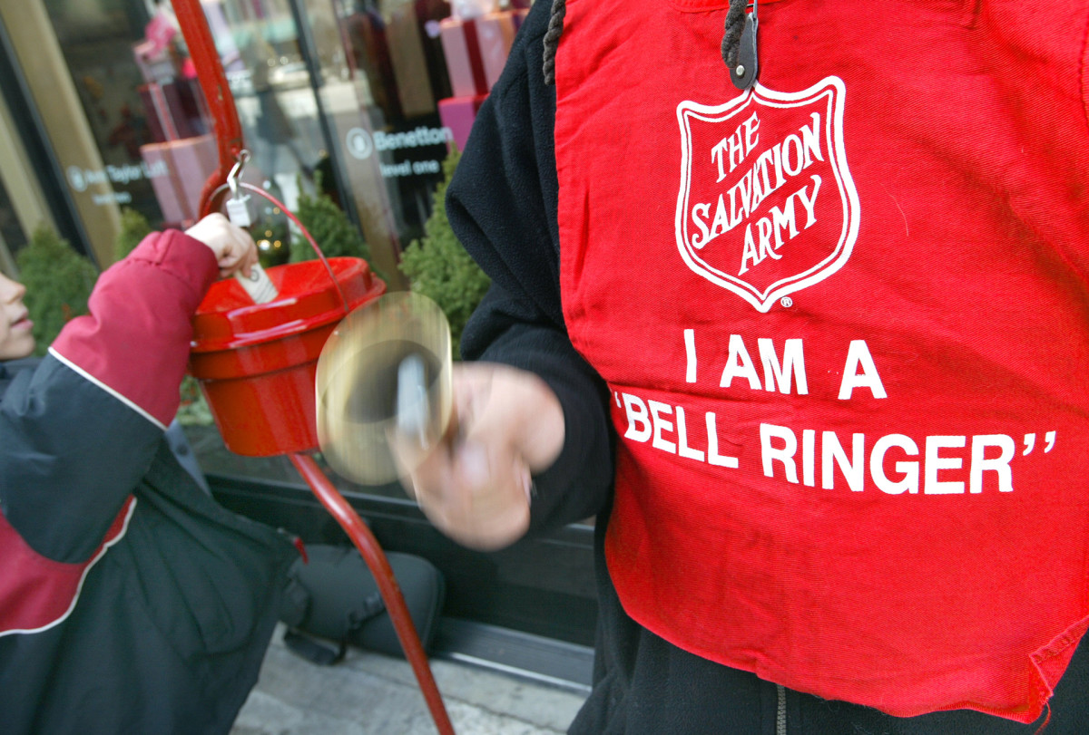 Christmas Traditions: Salvation Army Bell Ringers