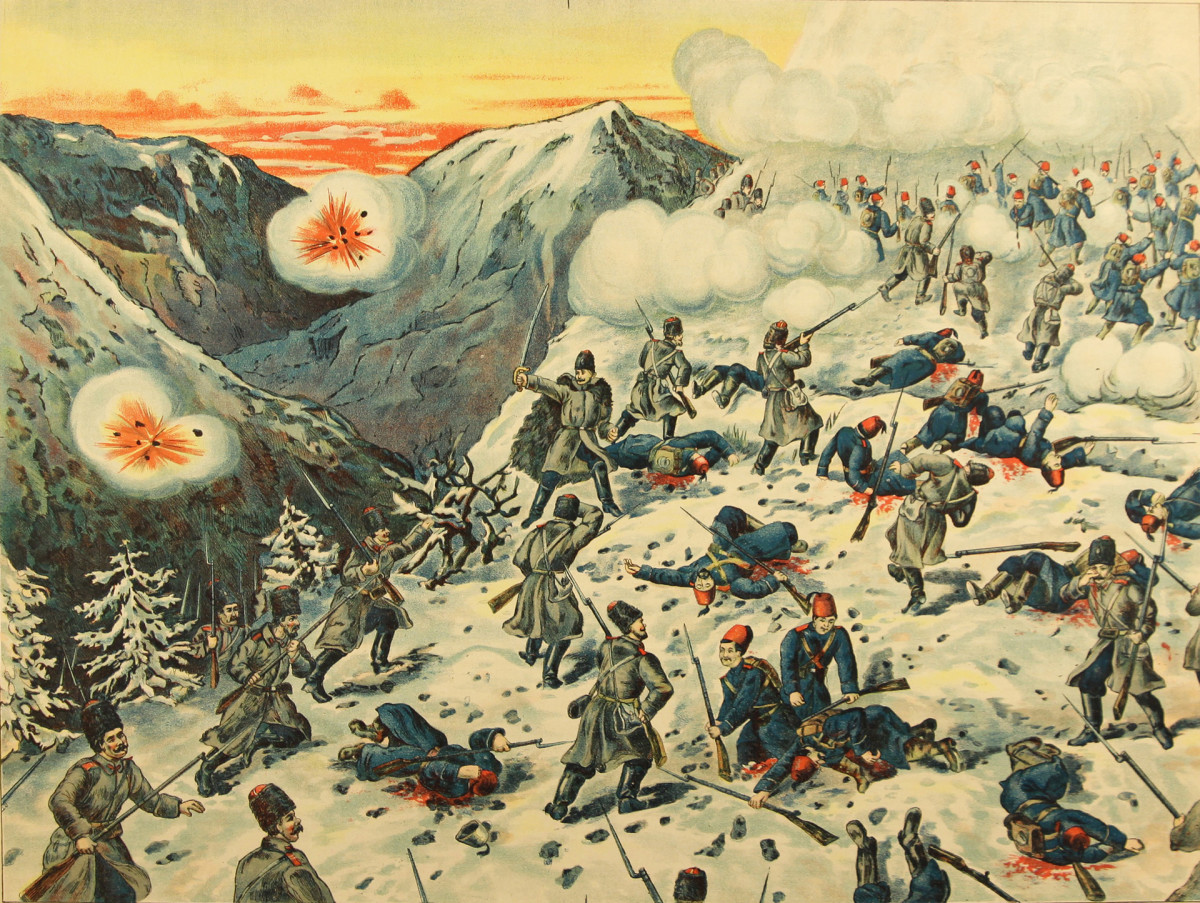 The Battle of Sarikamish
