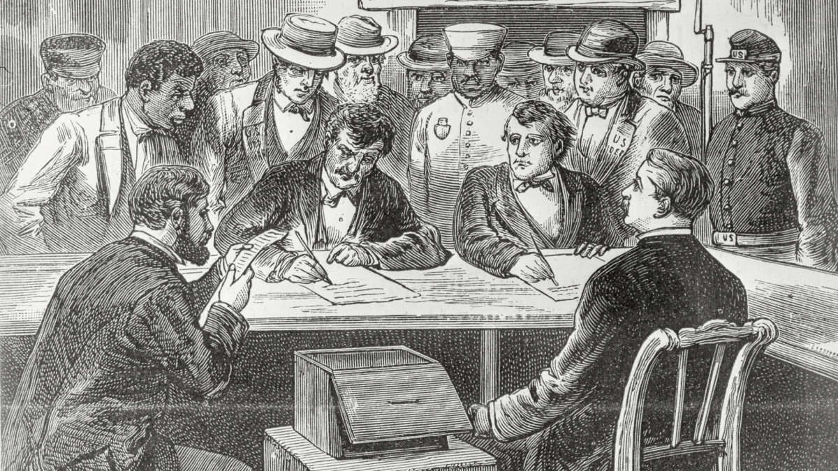 How the 1876 Election Effectively Ended Reconstruction