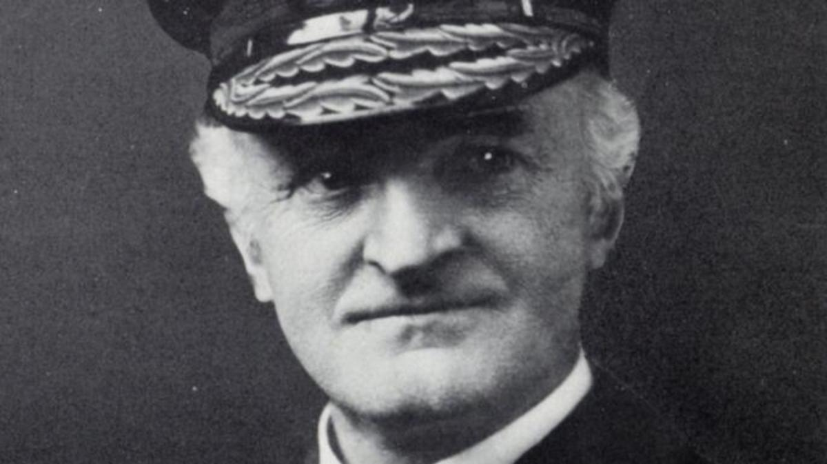 William Reginald Hall, who headed up Britain's Room 40 code-breakers.