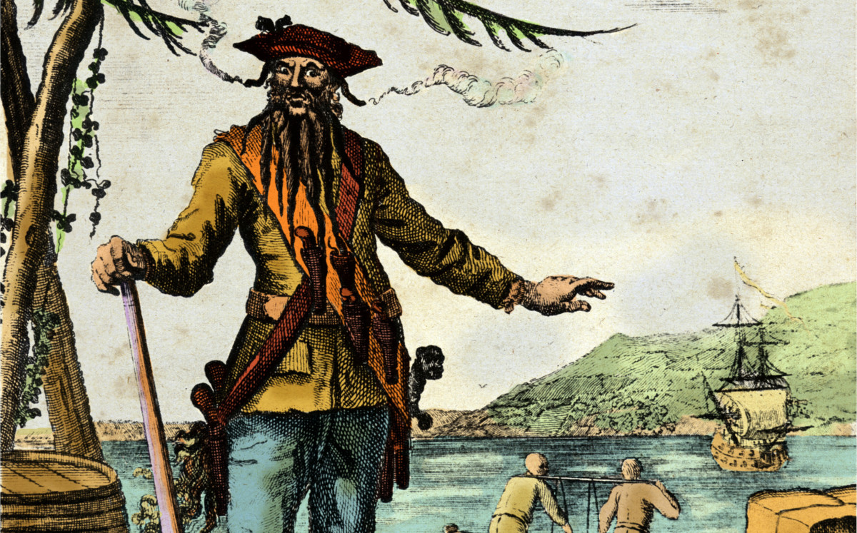 Blackbeard's Final Days—and How He Lost His Head - HISTORY