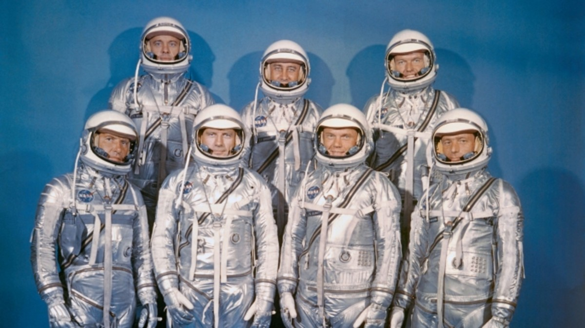 The United Stats' first Astronauts