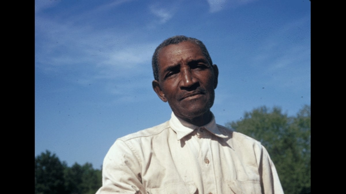 A participant in the Tuskegee Syphilis Study.