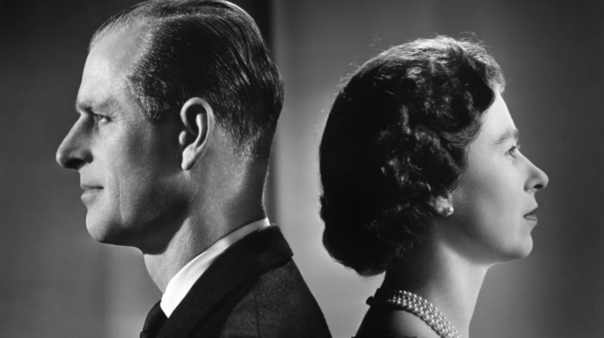 Queen Elizabeth II and Prince Philip, Duke of Edinburgh in 1958.