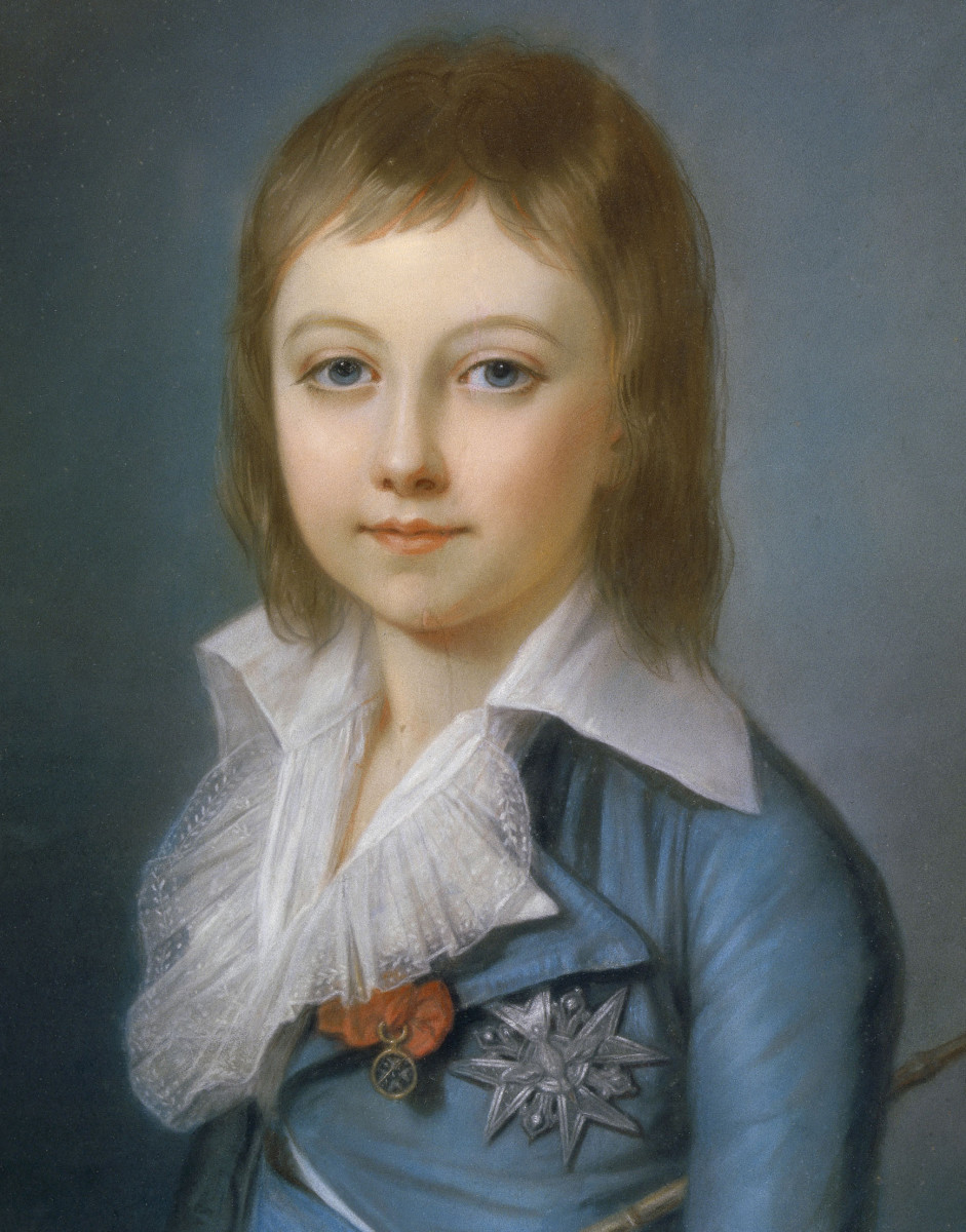 Louis XVII (1785-1795), Dauphin of France.