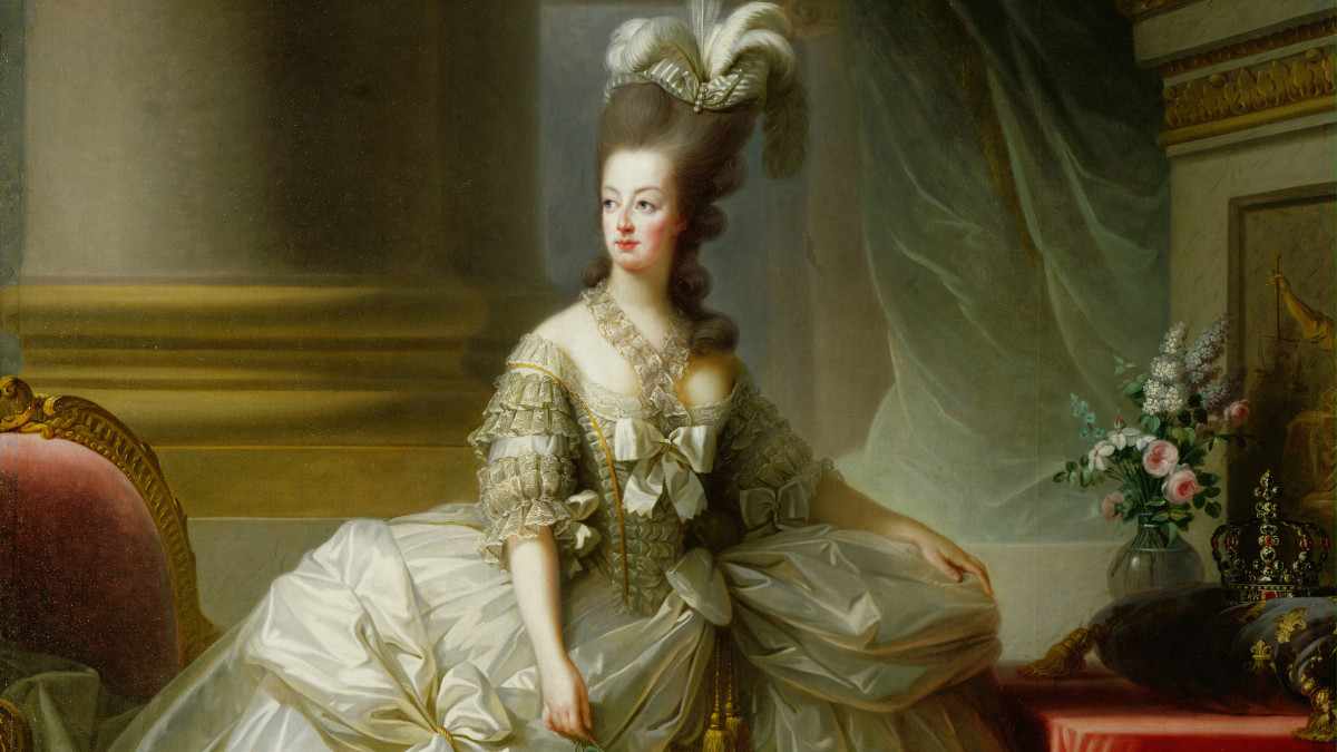 Marie Antionette, Queen of France.
