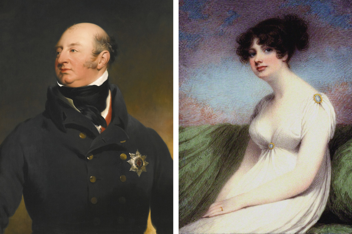 Frederick, Duke of York, and his mistress Mary Anne Clarke.