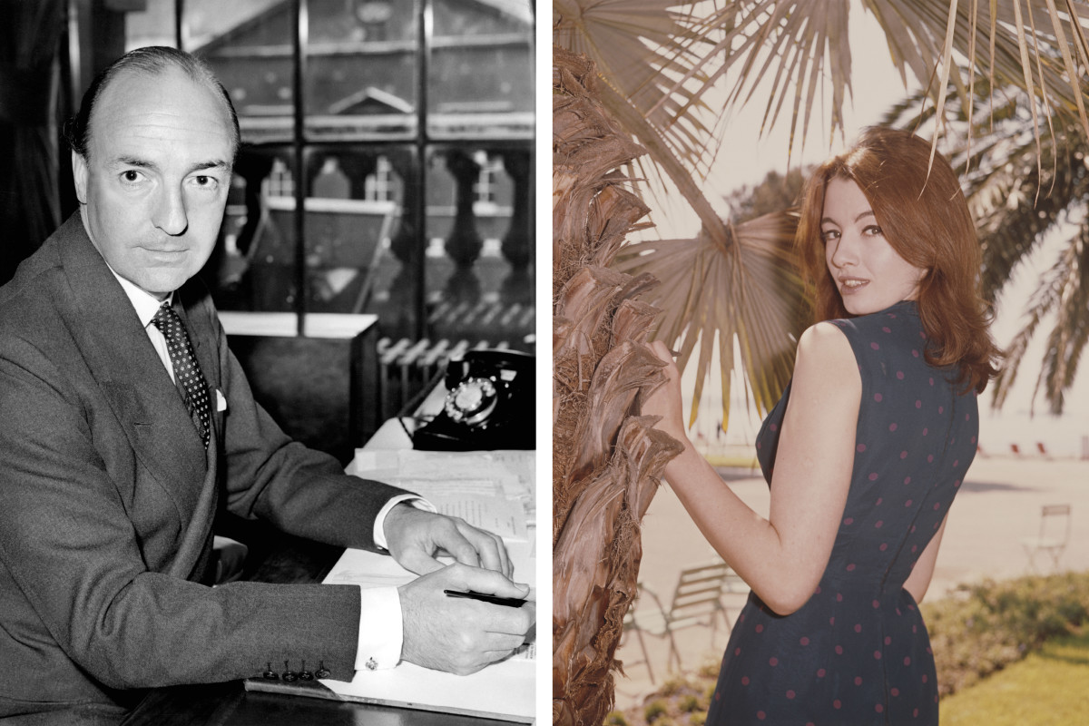 John Profumo, who was having an affair with model Christine Keeler.