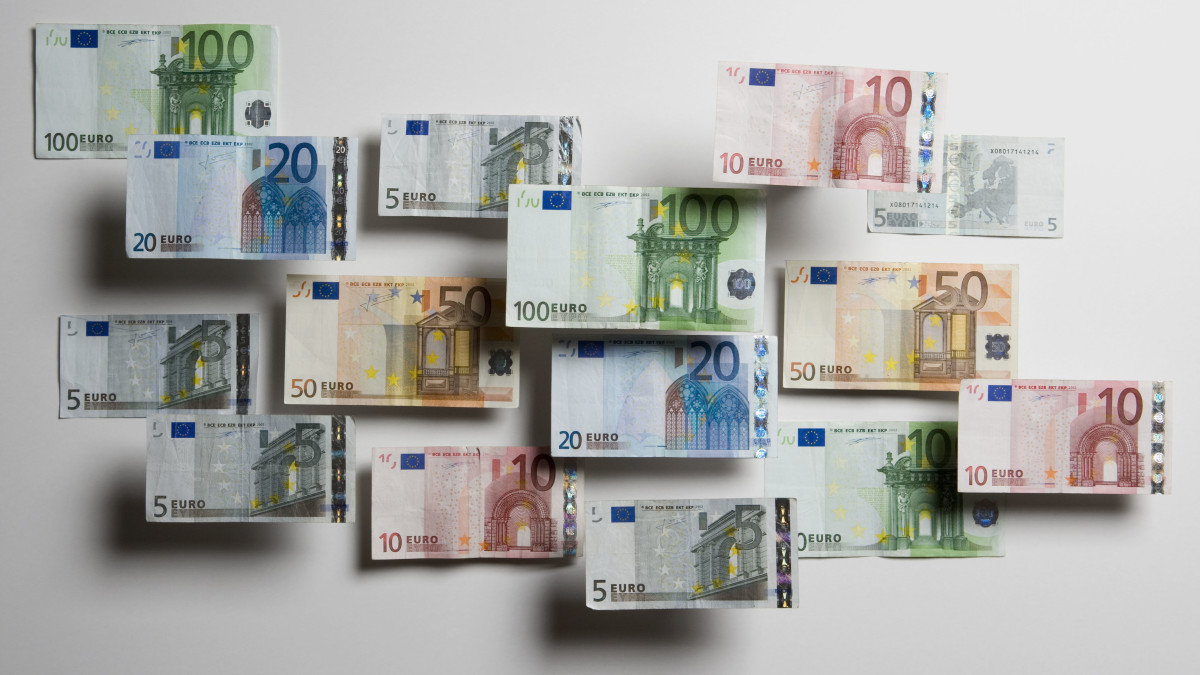Updated Euro banknotes.