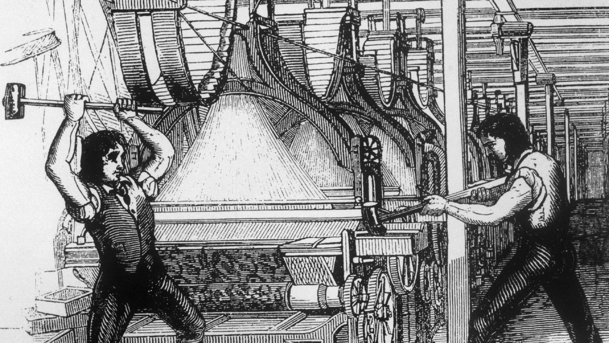 How The Industrial Revolution Gave Rise To Violent