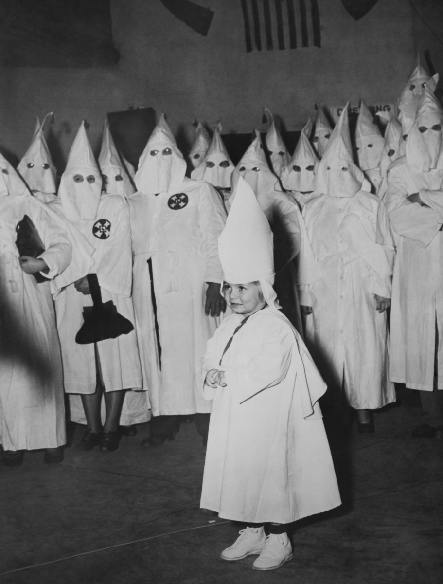 A Ku Klux Klan Initiation Ceremony in Georgia.