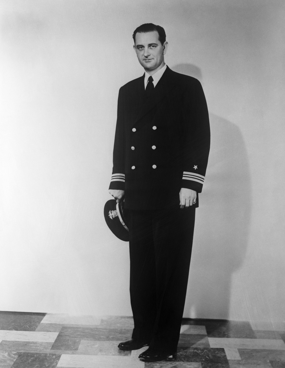 Lyndon B. Johnson in the US Navy