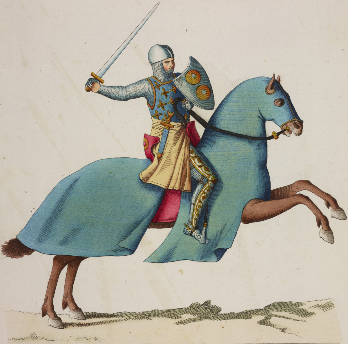 Thirteenth-century French knight