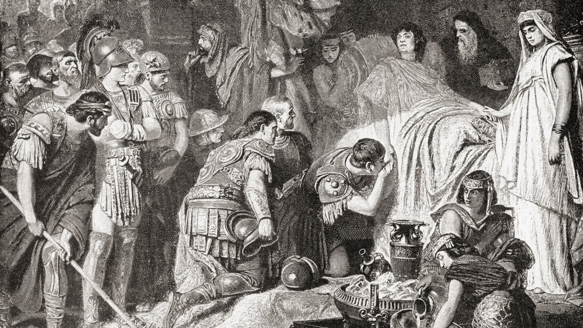 The Death of Alexander the Great
