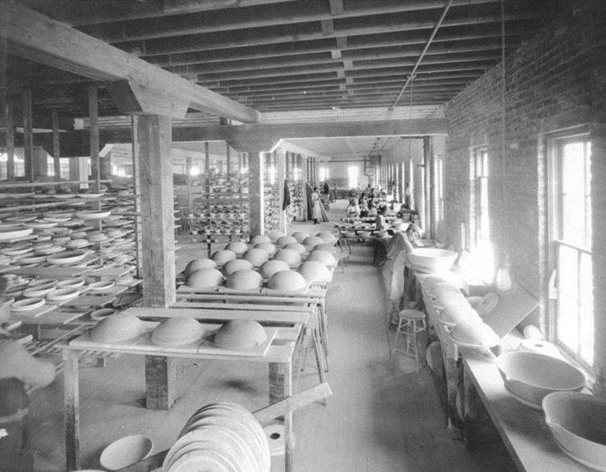 The Coors Porcelain Company interior.