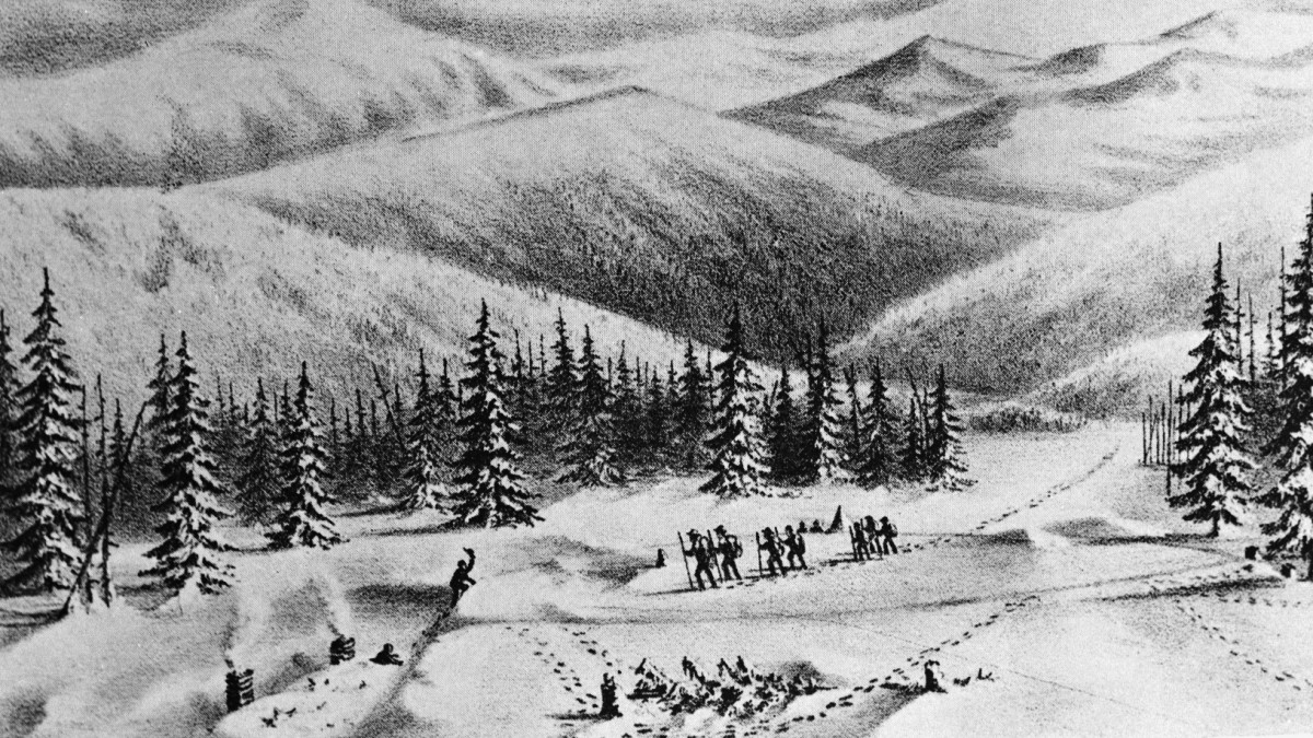 how the donner party was doomed by a disastrous shortcut