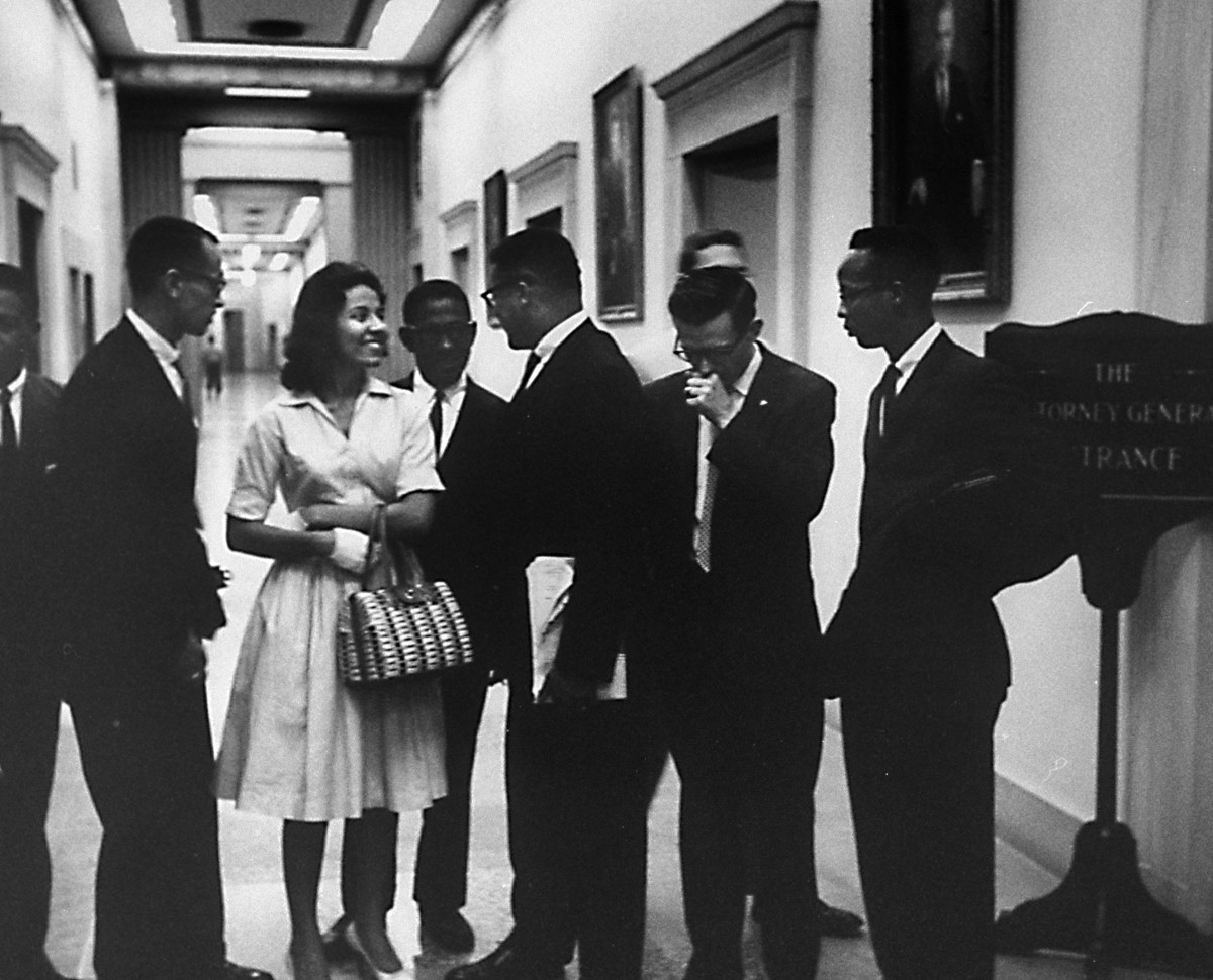 Diane Nash and other Freedom Riders.