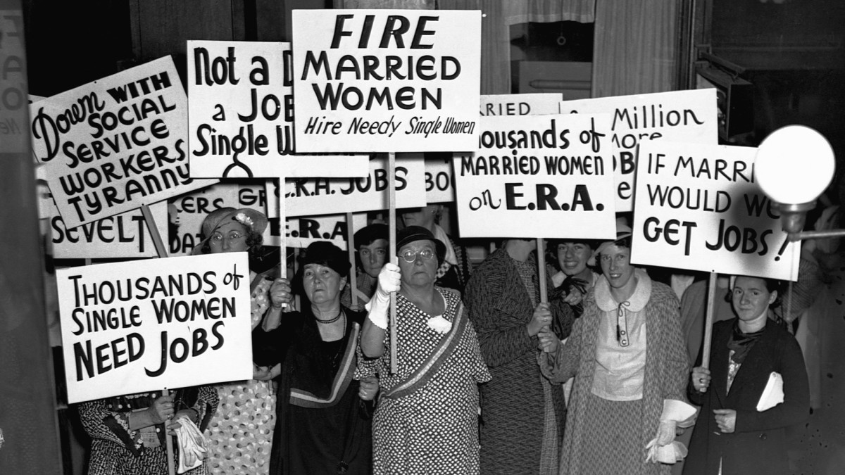 Why Many Married Women Were Banned From Working During the Great Depression