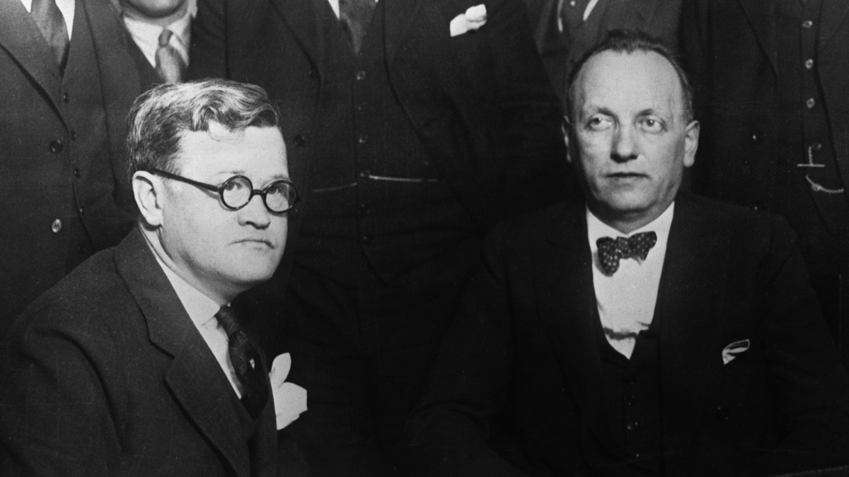 Leo Koretz, right, who was brought down with the help State's Attorney Robert Crowe, left.