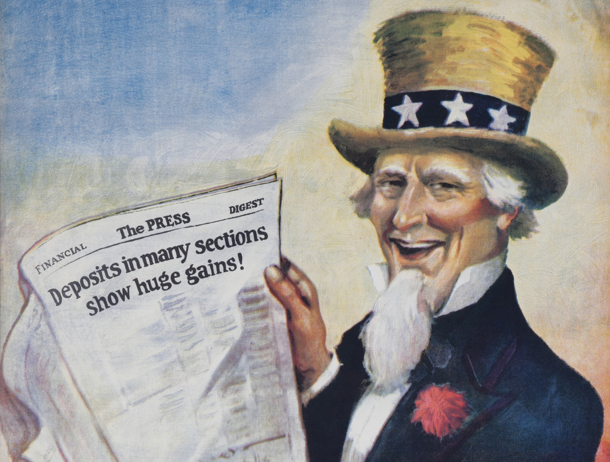 Painting of Uncle Sam