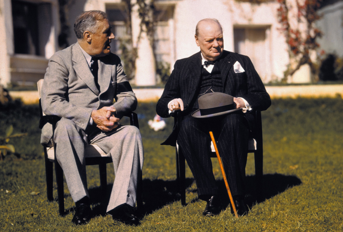President Franklin D. Roosevelt and Prime Minister Winston Churchill orchestrated the D-Day plans.