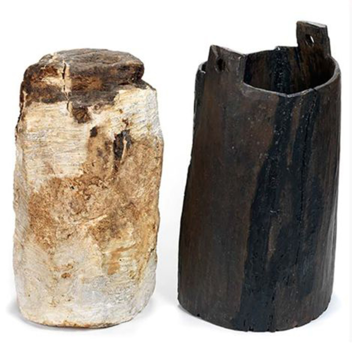 An example of bog butter recovered from Irish contexts. Pictured here is dated to 360-200 BC and found deposited in a keg.