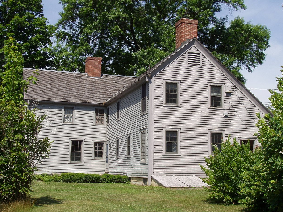 Colonel John Ashley House, where Freeman was enslaved, in Sheffield, Massachusetts.