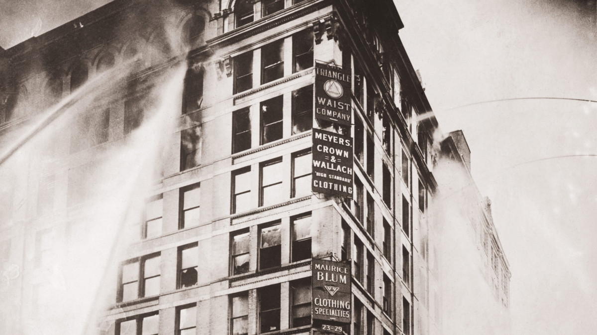 How the Deadly Triangle Shirtwaist Factory Fire Shocked a ...Triangle Shirtwaist Fire