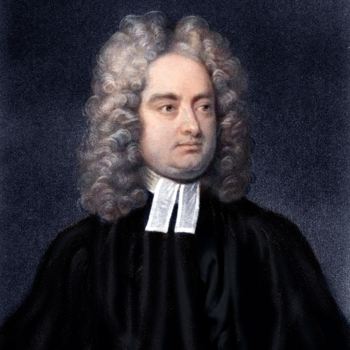 Satirist Jonathan Swift.
