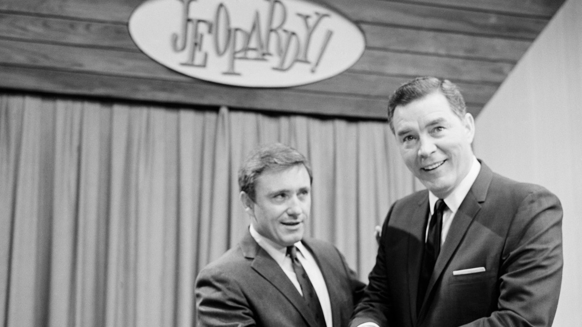 Merv Griffin and Art Flemming