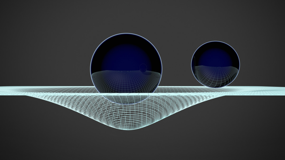 Gravitational waves are ripples in the curvature of space-time that propagate as waves traveling outward from their source.